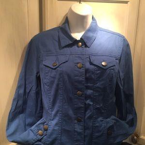 Charter Club blue jacket